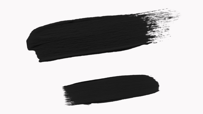 Frame - Abstract Paint Brush Strokes Transition Reveal with Alpha Channel   Shutterstock HD Video #1038284000