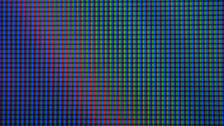 LCD screen pixels. Macro Shot Of Computer Screen, Pixels Texture. Abstract Blue Background. Close up LED Display With Color Shades  technology. Closeup Monitor. Pattern Wallpaper Illuminations. | Shutterstock HD Video #1038453620