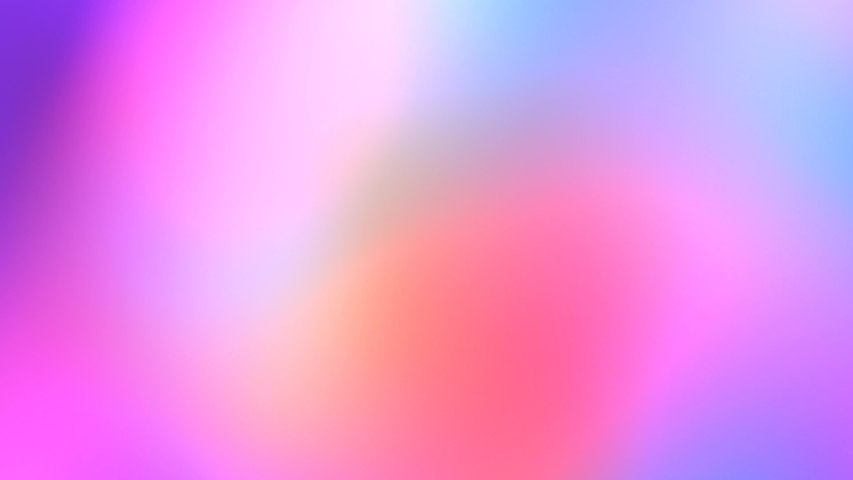 Color neon gradient. Moving abstract blurred background. The colors vary with position, producing smooth color transitions. Purple pink blue ultraviolet