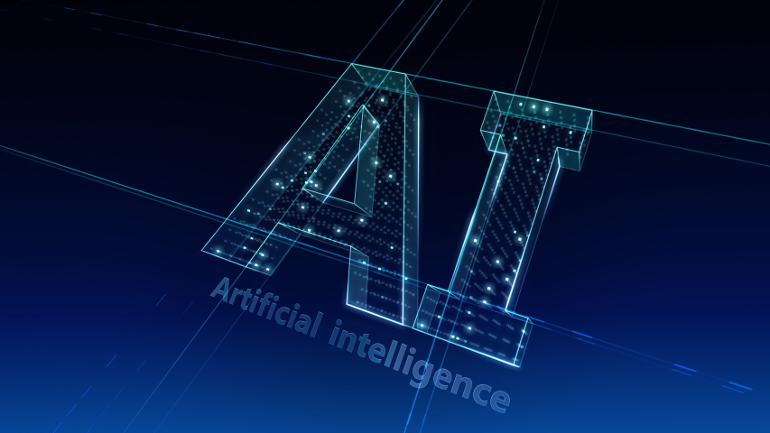 AI, artificial intelligence digital network technologies concepts Background. | Shutterstock HD Video #1038901670