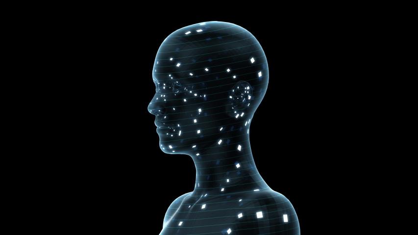 AI, artificial intelligence digital network technologies concepts Background. | Shutterstock HD Video #1038901730
