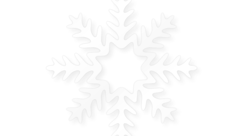Beautiful white snowflakes rotating in white background. Christmas snowflakes background for greetings. | Shutterstock HD Video #1039042400