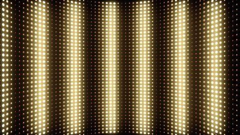 Flashing Lights Spotlight Bulb Flood lights Vj Led Wall Stage Led Display Blinking Lights Motion Graphic Background Backdrop