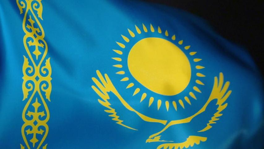 существующей картинки флаг казахстана узорами один готовых