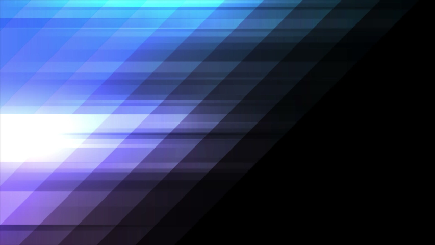 Blue and violet tech minimal geometric abstract motion background seamless loop video animation ultra hd | Shutterstock HD Video #1040485670