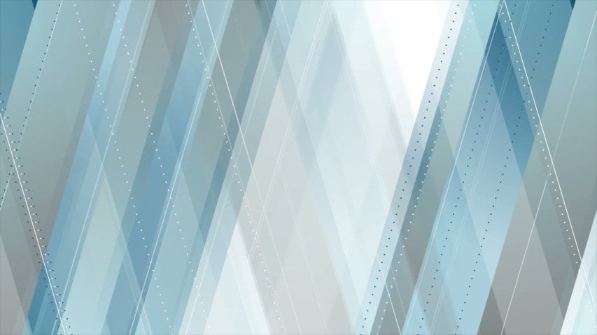 Blue and grey abstract tech geometric minimal motion design seamless loop video animation ultra hd | Shutterstock HD Video #1040486870