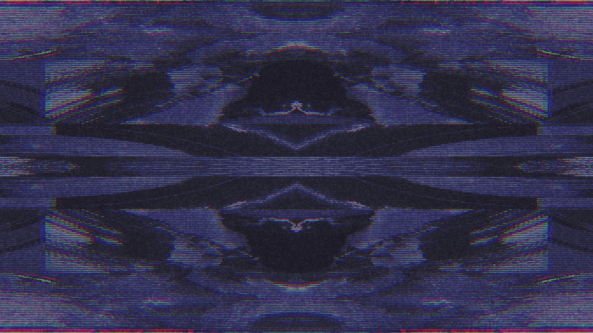 Abstract Symmetry and Reflection Digital Pixel Noise Glitch Background   Shutterstock HD Video #1040983580
