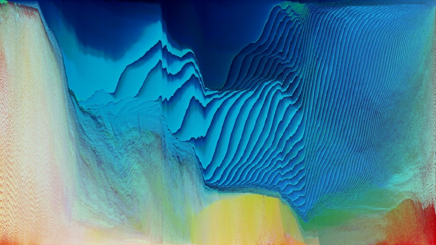Glitch art abstract motion graphic loop   Shutterstock HD Video #1041055250