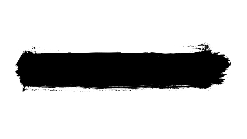 Grunge brush stroke. Abstract hand - painted element. Underline and border design. Seamless looping background. 4K   Shutterstock HD Video #1041381520