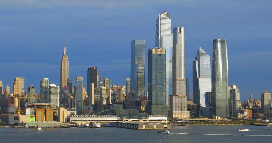 Skyline, midtown Manhattan, New York City | Shutterstock HD Video #1042252030
