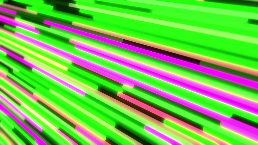 4K Abstract background of glowing neon lines    Shutterstock HD Video #1044957940
