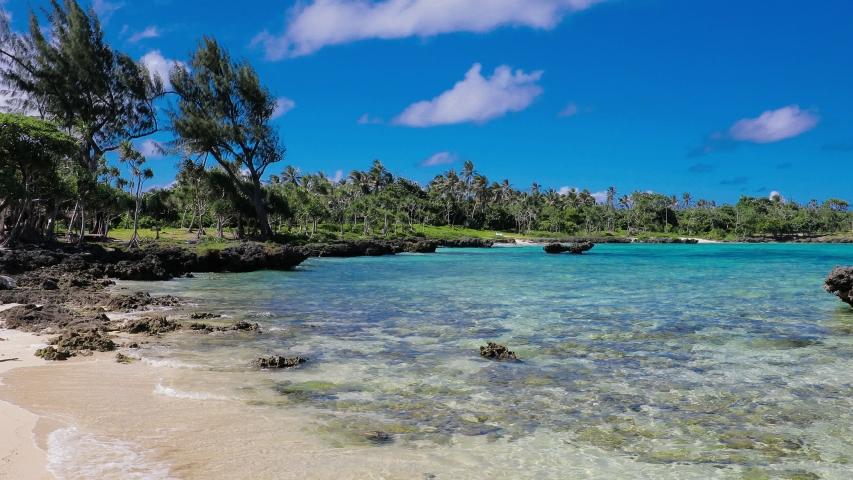 Eton Beach, Efate Island, Vanuatu, near Port Vila - famous beach on the east coast | Shutterstock HD Video #1045434670