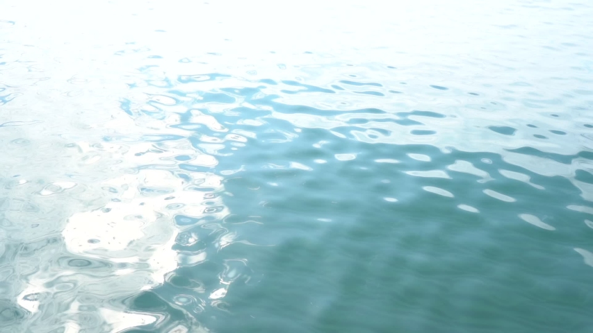 Beautiful sunny soft surface of calm sea water. Organic abstract video background. Slow motion full hd video footage. | Shutterstock HD Video #1045477510