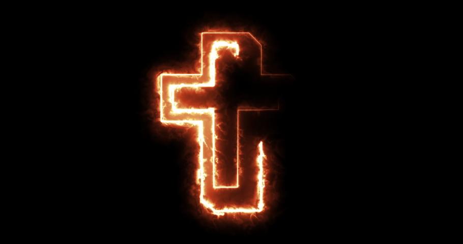 4 different christian cross symbol animations | Shutterstock HD Video #1046905990