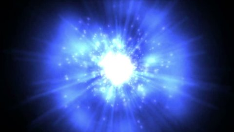 4k rotation tech energy & flare dynamic rays fiber light in space,nebula & flying particles in universe. 0904_4k