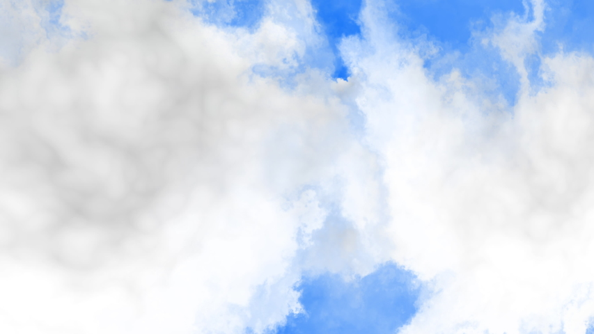 Flying in the clouds high in the sky. Clouds are moving on camera. | Shutterstock HD Video #1049579110