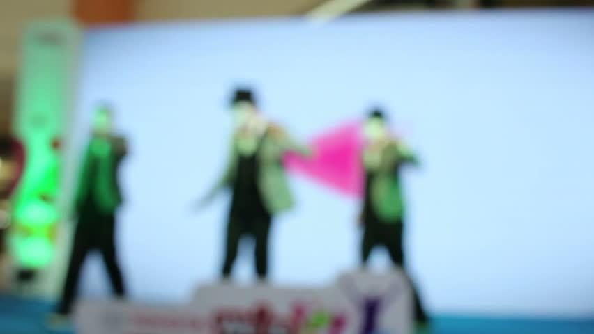 Blurred of dance | Shutterstock HD Video #10523570