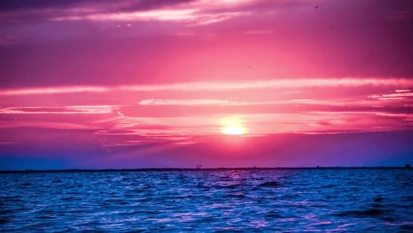 f77602a9e Amazing Purple Sunset On the Stock Footage Video (100% Royalty-free)  10532300   Shutterstock