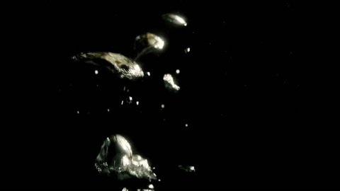 Spaghetti falling into water. Shoot on Digital Cinema Camera in slow motion - ProRes 422 codec.