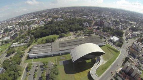 Oscar Niemeyer Museum - Curitiba - Parana - Brazil
