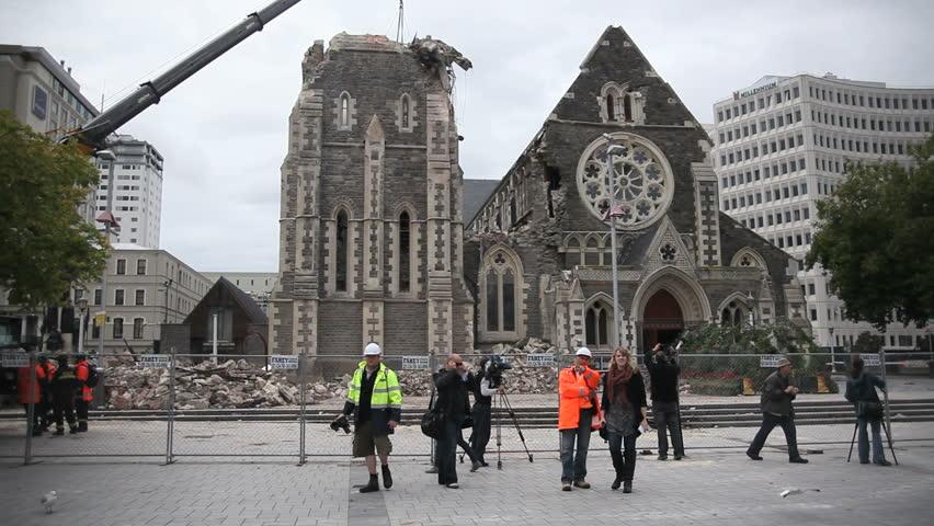 Christchurch Hd: Stock Video Of Christchurch, New Zealand