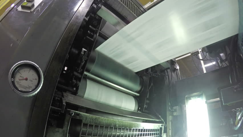 4k Web set offset print shop newspapers Printing (Loop), Newspapers coming off the rotation printing press industrial machine. Seamless looping video, uhd stock video | Shutterstock HD Video #10681040