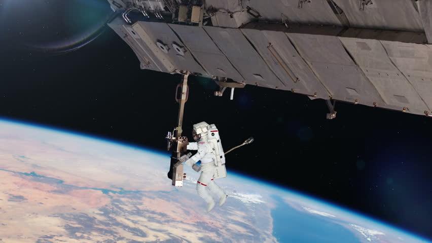international space station astronaut spacewalk - photo #31