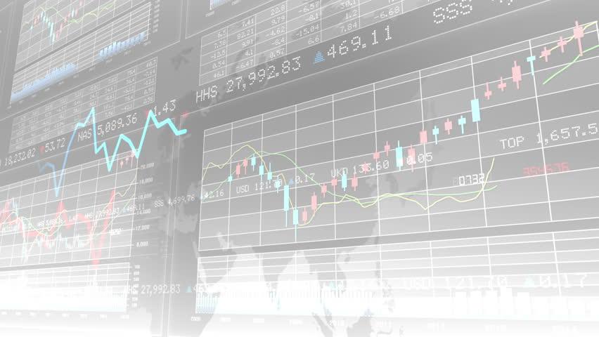 Financial Business Graph. | Shutterstock HD Video #10762313