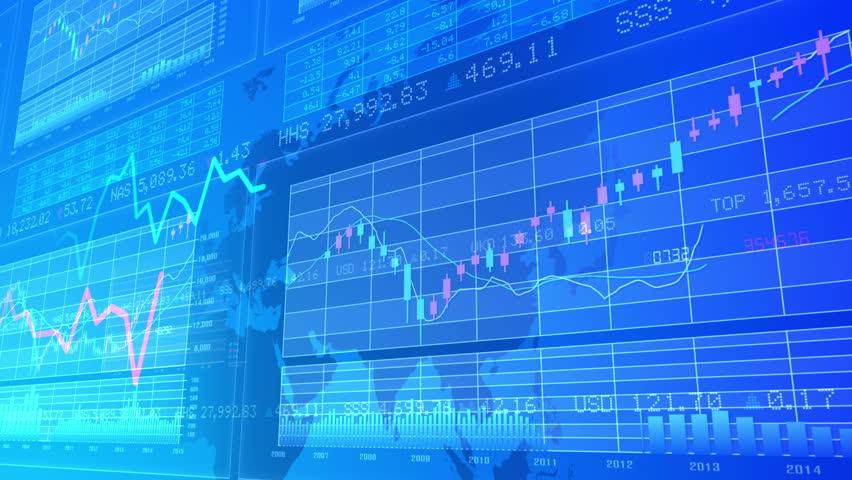 Financial Business Graph.   Shutterstock HD Video #10762346