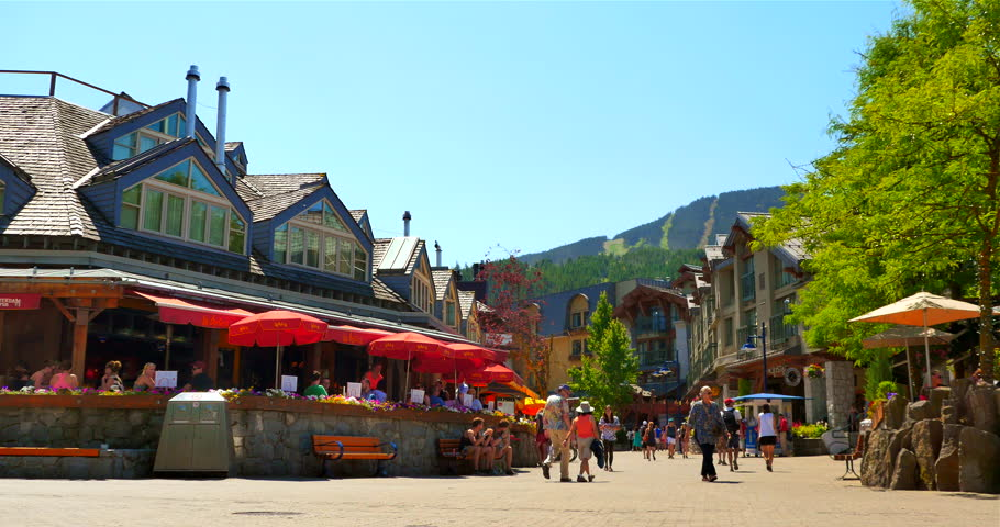 Whistler Village Stock Video Footage 4k And Hd Clips Shutterstock