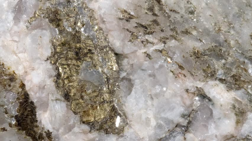 Header of pegmatite