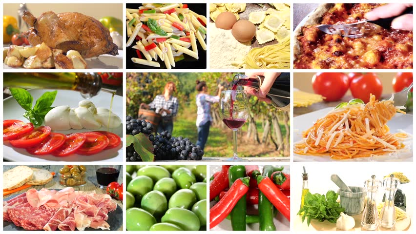 Italian food montage stock footage video 10895330 shutterstock forumfinder Choice Image