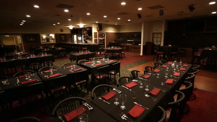 Fancy Italian Restaurant Dark Tables Stock Footage Video 100 Royalty Free 10943690 Shutterstock