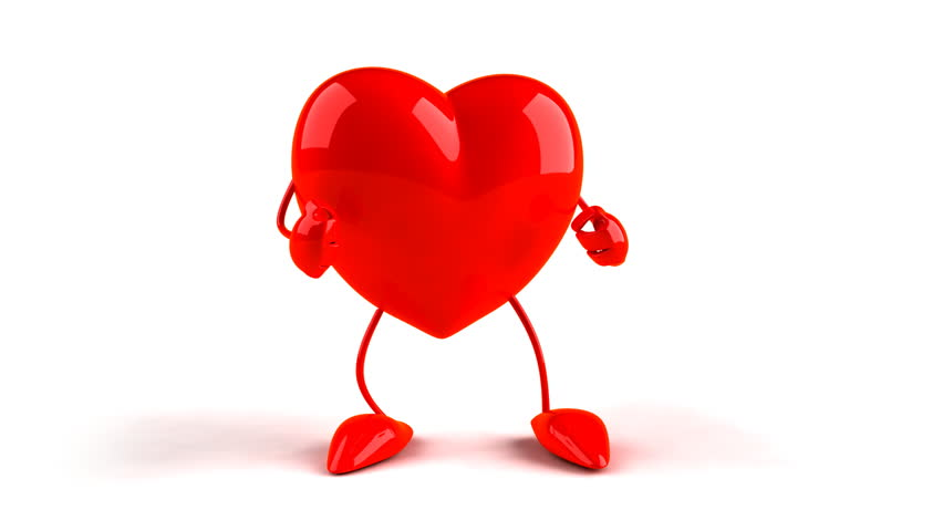 stock video of dancing heart 110470 shutterstock rh shutterstock com Construction Clip Art Heart Heart Walk Clip Art