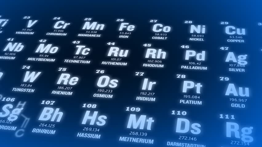 Stock video clip of periodic table blue periodic table of elements stock video clip of periodic table blue periodic table of elements shutterstock urtaz