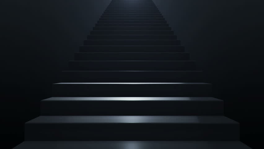 Seamless loop animation of slow motion on staircase. | Shutterstock HD Video #11131220