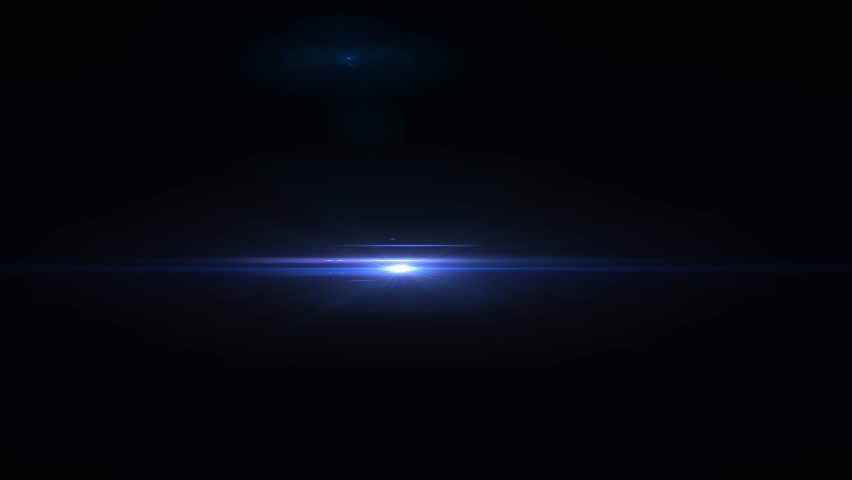 Fancy Light Effects In A Dark Background Stock Footage: Stock Video Clip Of Optical Lighting/light Flare On A Dark