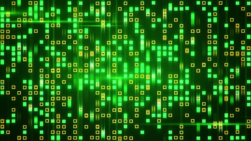 Abstract technology background with animation fast motion of squares and light stripes. Animation of data transferring or computer's data files. Animation of seamless loop.   Shutterstock HD Video #11177990