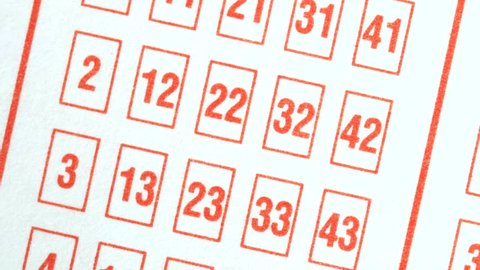 Making prediction by choosing numbers on a lotto ticket. A lottery is a form of gambling which involves the drawing of lots for a prize.