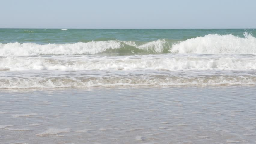 Sea Waves Spreading Over the Stock Footage Video (100% Royalty-free)  11301770 | Shutterstock