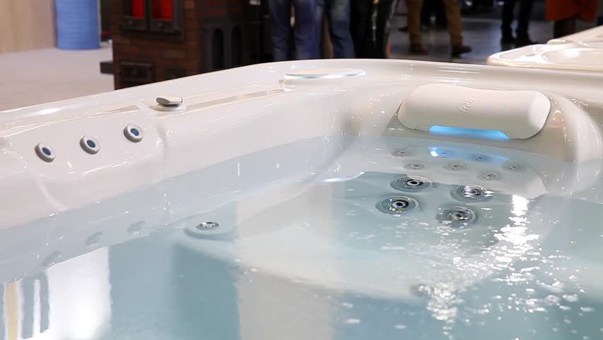 Stock video of jacuzzi bath with changing different color | 11342240 ...