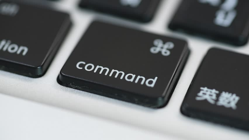 Finger Push Command (cmd) Key Stock Footage Video (100% Royalty-free)  11461340 | Shutterstock