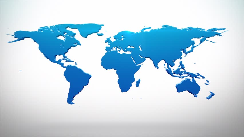 Stock video of world map with pins hd 1491730 shutterstock gumiabroncs Choice Image