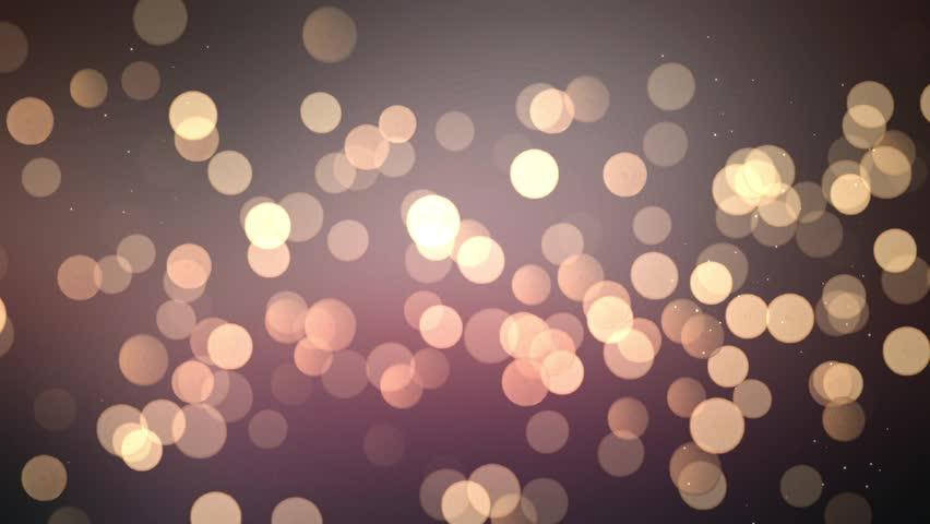 Christmas bokeh particles simulating blurred christmas lights. - Christmas Bokeh Particles Simulating Blurred Christmas Lights.
