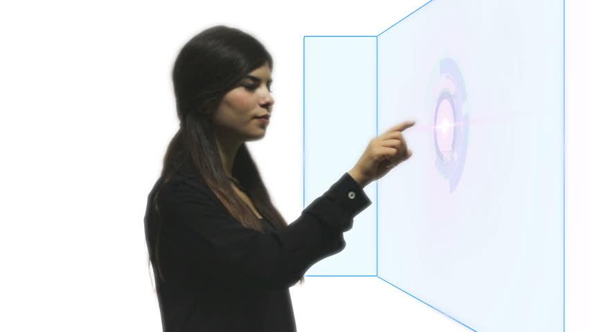 Touch screen digital technology | Shutterstock HD Video #11613977