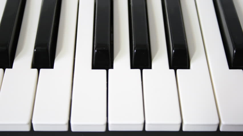 Piano Keys Loopable Motion Hd Stock Footage Video (100% Royalty-free)  1161550 | Shutterstock