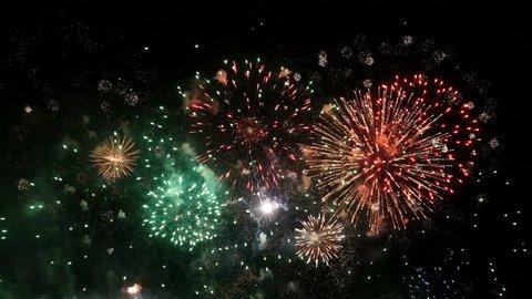 Firework Display. Spectacular Fireworks show