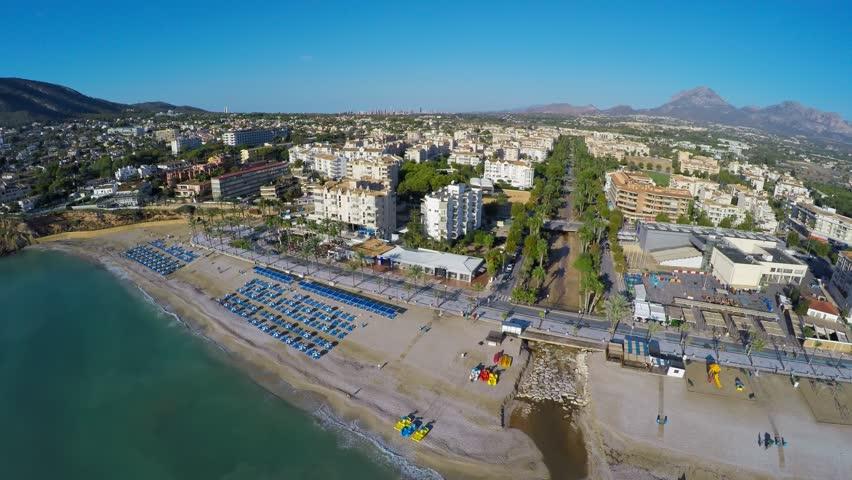 Siste Altea Playa Del Albir of Stock Footage Video (100% Royalty-free QI-08