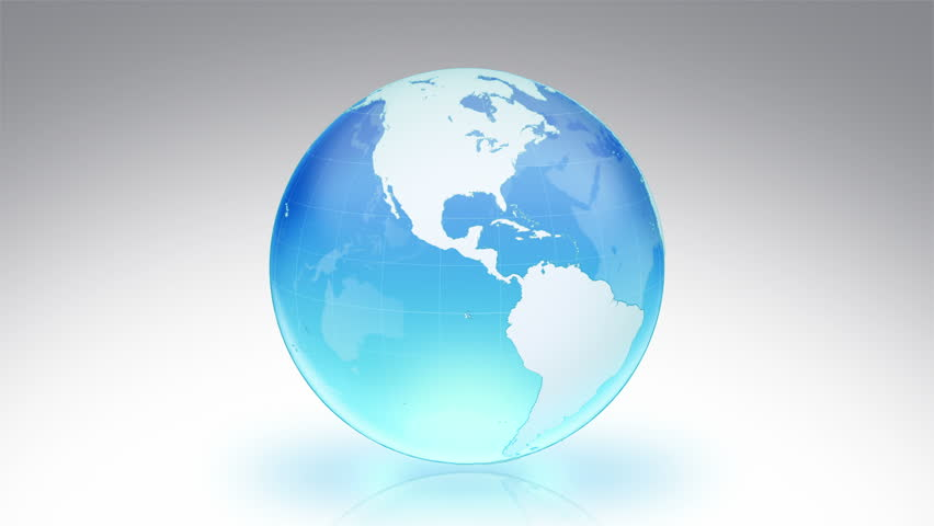 4k rotate blue globalearth mapenvironmental protection spinning earth with parallels and meridians alpha matte cyan loopable more color gumiabroncs