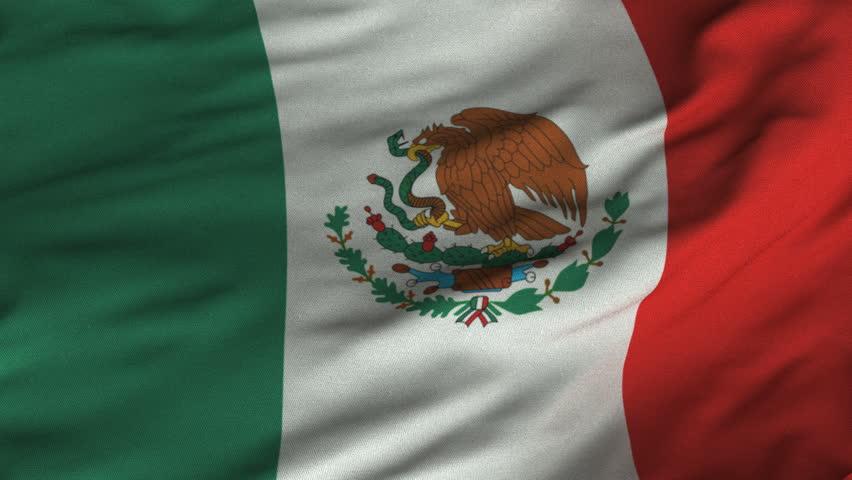 mexican flag silk  loop hd   mexican flag with original